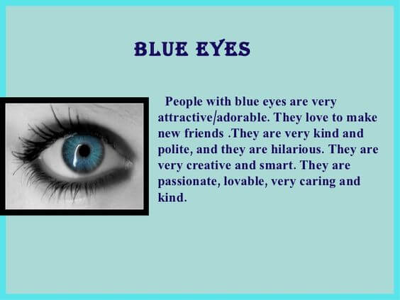 about blue eyes quotes